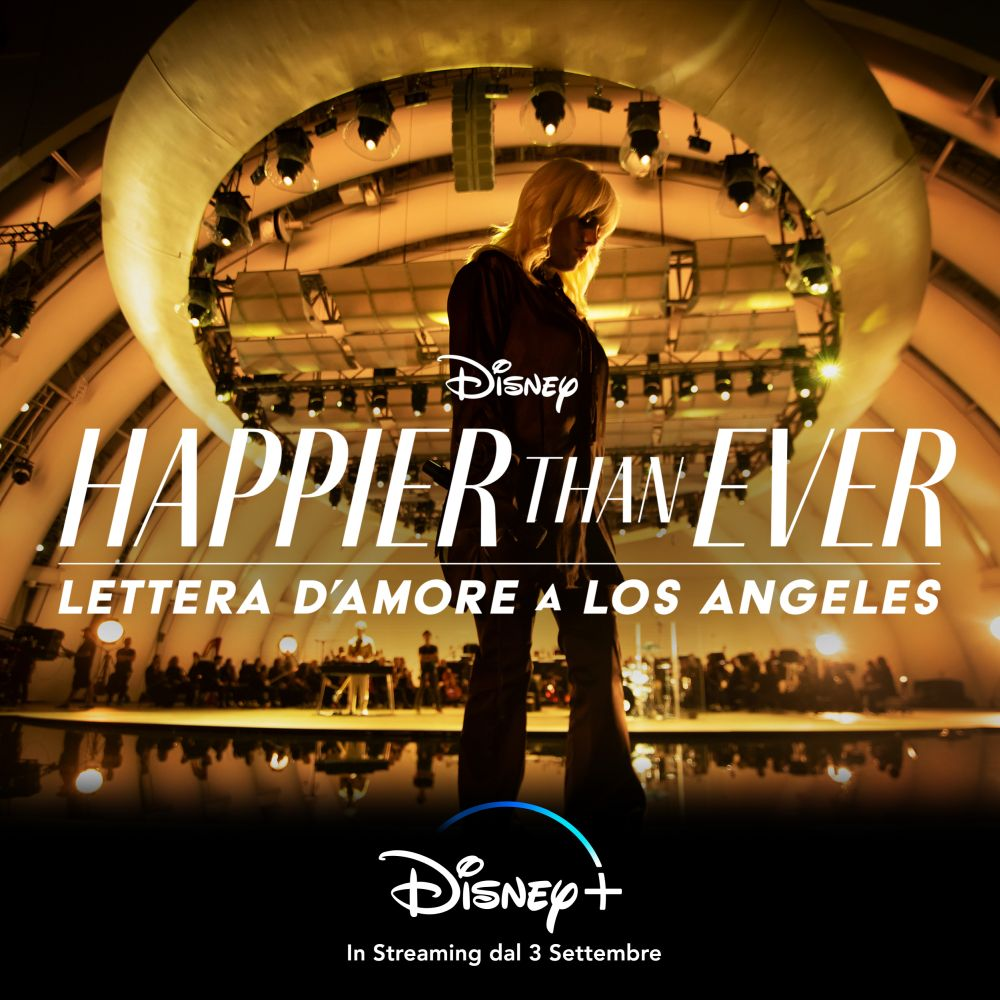 happier than ever poster