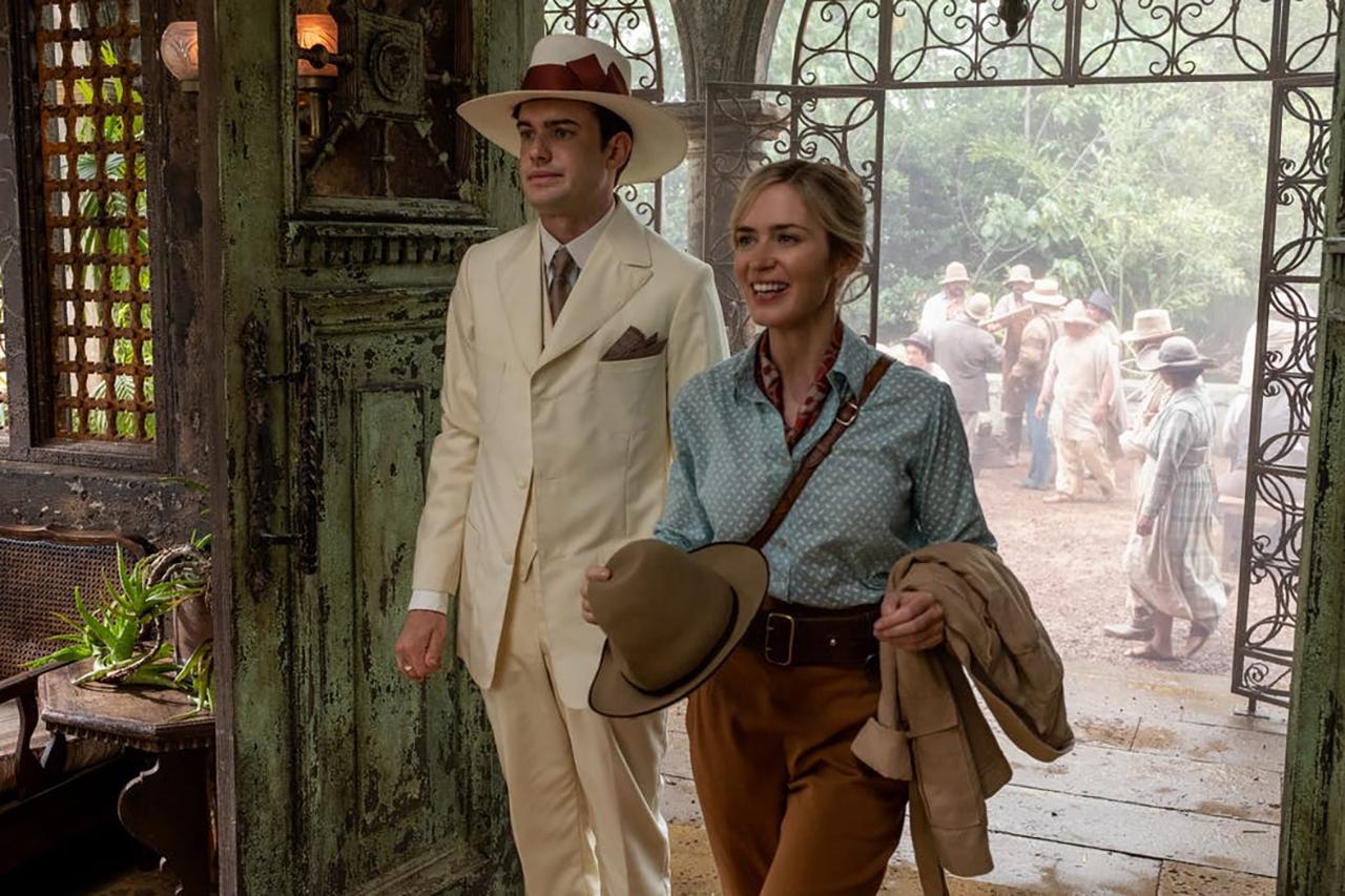 Jack Whitehall e Emily Blunt