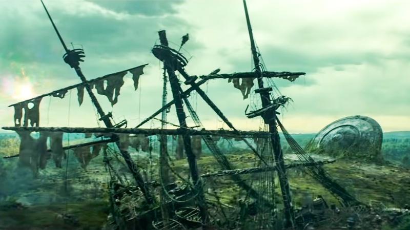Loki - nave pirata e ufo