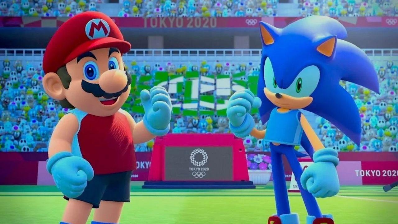 mario e sonic ai giochi olimpici