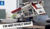 LEGO Star Wars Republic Gunship UCS: il set 75309 scelto dai fan!