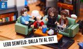 LEGO Seinfeld, le foto, i dettagli e le curiosità dietro al nuovo set LEGO Ideas 21328