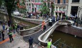 Il primo ponte in acciaio stampato in 3D è stato inaugurato ad Amsterdam