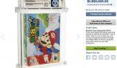 Super Mario 64: una copia sigillata in condizioni perfette venduta per 1,5 milioni di dollari