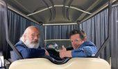 Ritorno al Futuro: Michael J. Fox e Christopher Lloyd di nuovo insieme all'Awesome Con (foto)