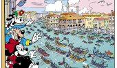 Minni e Topolino alla regata storica di Venezia