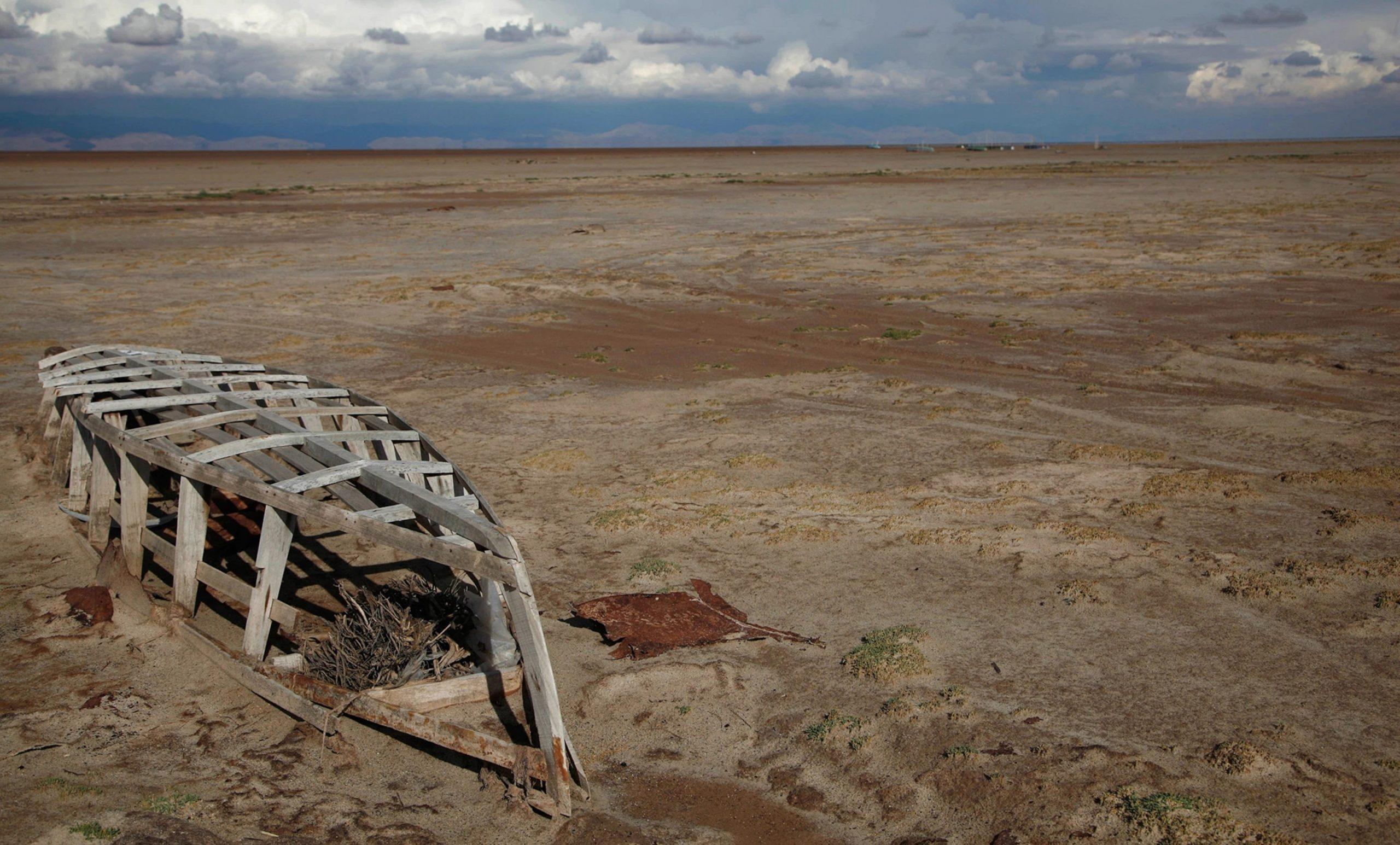 Bolivia Lago Poopo