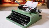 LEGO Macchina da Scrivere: recensione del set Lego Ideas 21327 Typewriter