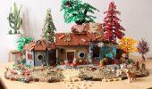 LEGO Sweet Tooth, il rifugio di Gus ricreato da Andrea Lattanzio