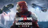 Watch Dogs Legion: La Casa di Carta è il nuovo crossover del gioco Ubisoft, ecco il trailer
