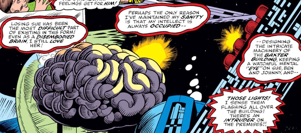 big brain marvel