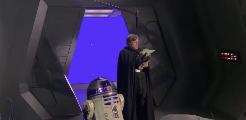 Disney Gallery, Luke Skywalker, Mark Hamill, The Mandalorian