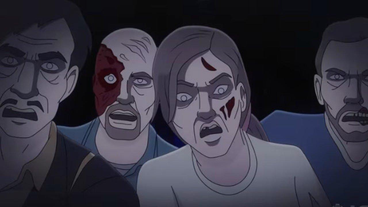 La notte dei Morti viventi film animazione