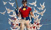 Peacemaker: il poster orizzontale della serie HBO Max con John Cena