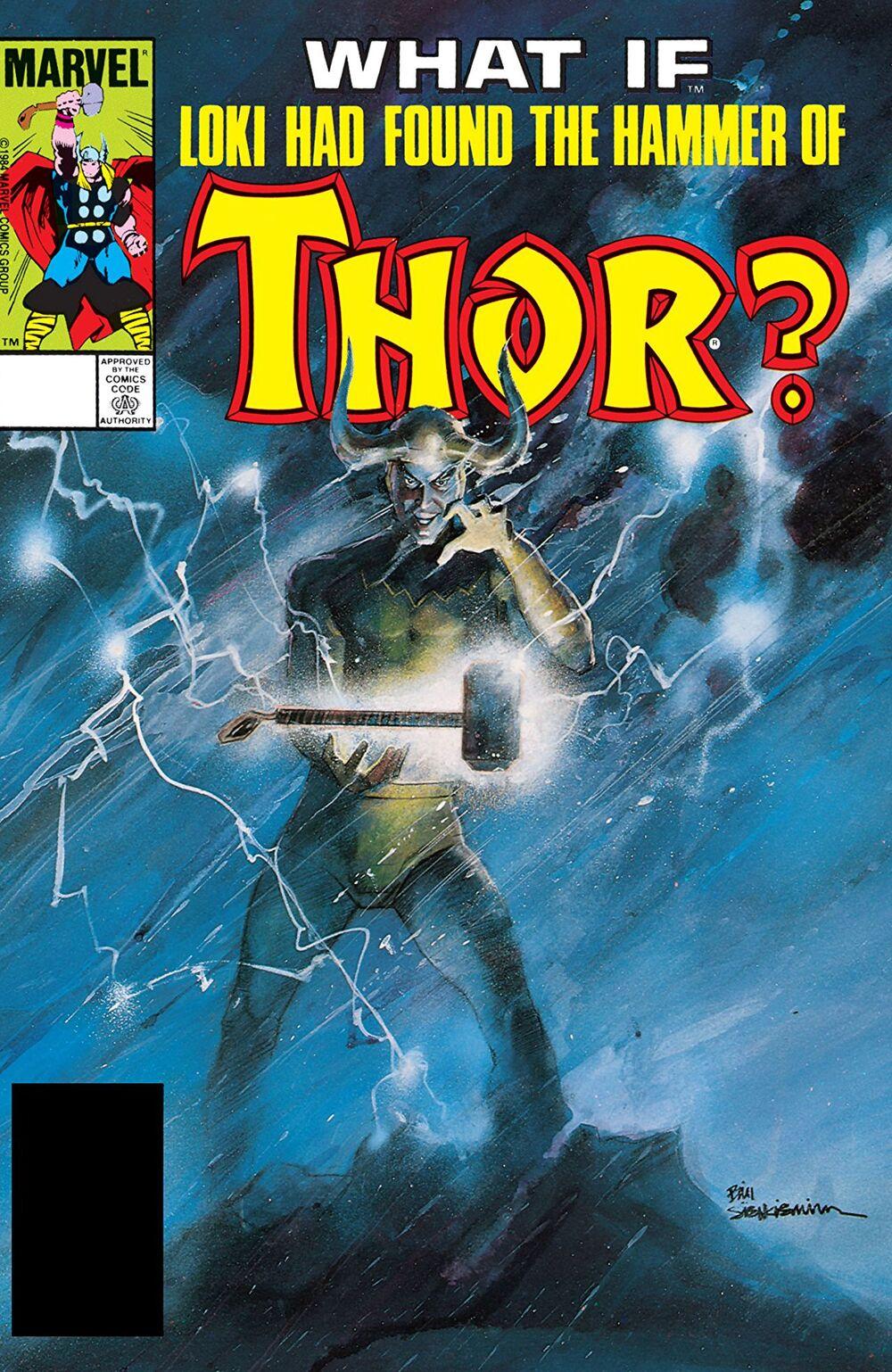 storie di What If Loki Mjolnir