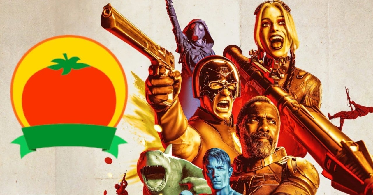 the suicide squad, rotten tomatoes