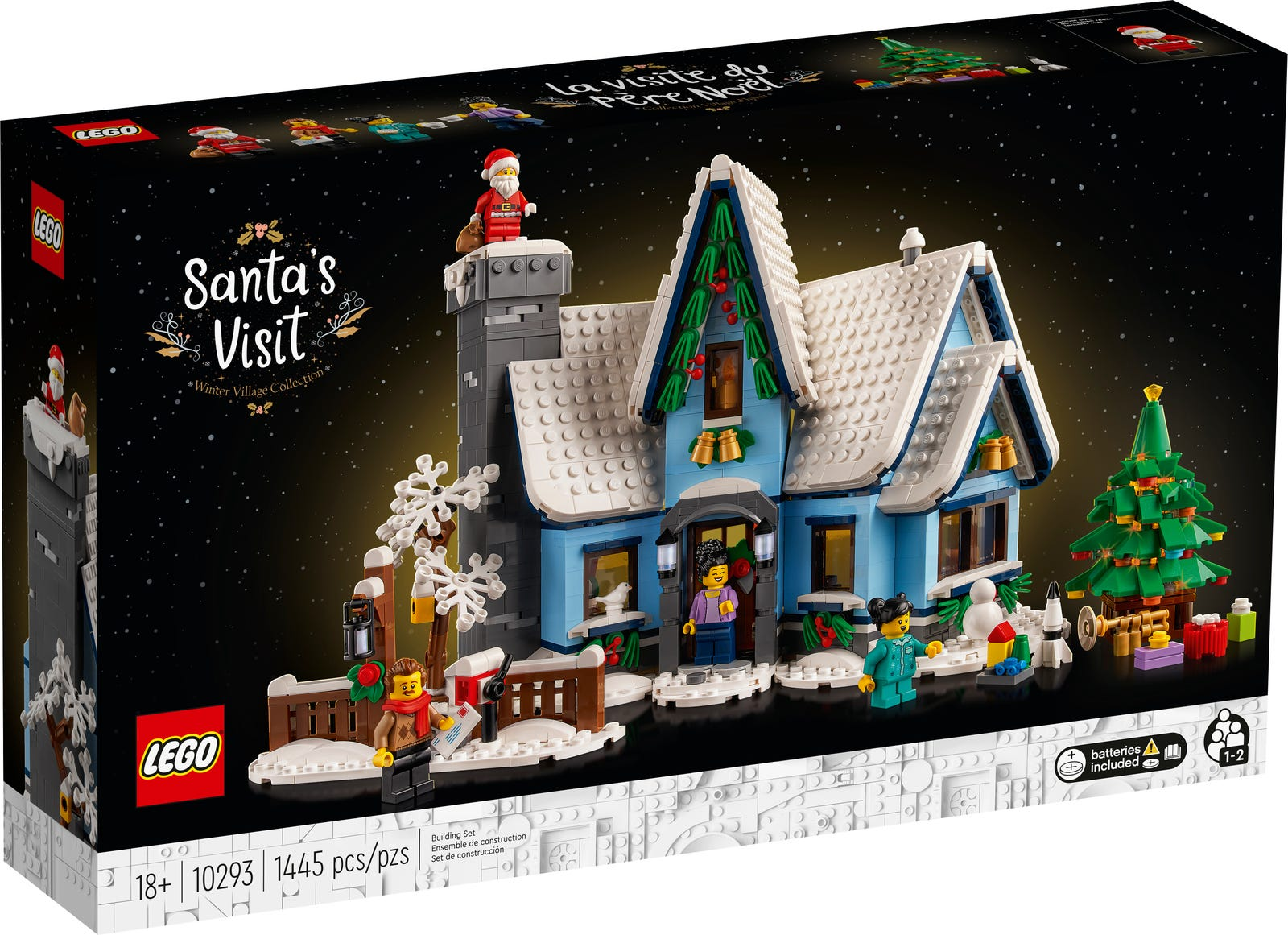 LEGO Santa Claus is visiting