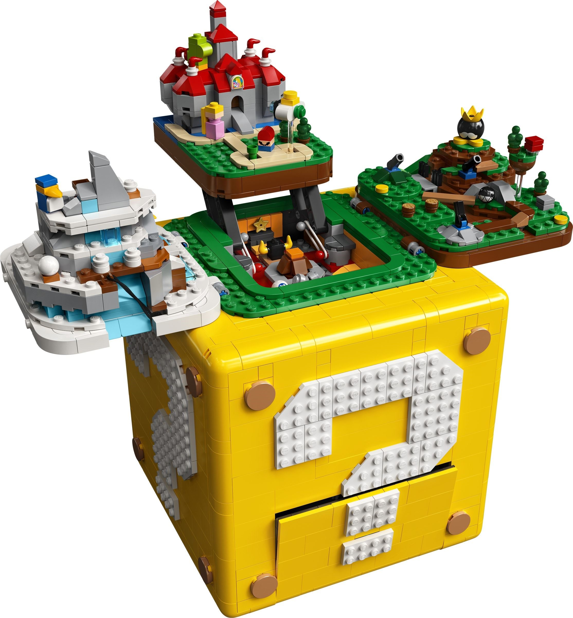 LEGO Blocco punto interrogativo Super Mario 64