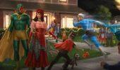 WandaVision: un artwork svela il costume che Wanda avrebbe dovuto indossare nell'episodio 6