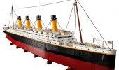 LEGO Titanic, presentato il set del famoso transatlantico lungo più di un metro