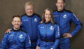 William Shatner: il Capitano Kirk completa il suo viaggio nello spazio grazie a Blue Origin