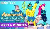 Aquaman: King of Atlantis - I primi quattro minuti della serie animata