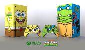 L'Xbox Serie X si veste da Spongebob (e Tartarughe Ninja): l'edizione limitata per Nickelodeon All-Star Brawl