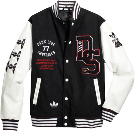 Adidas Dark Side Imperials Varsity Jacket Leganerd
