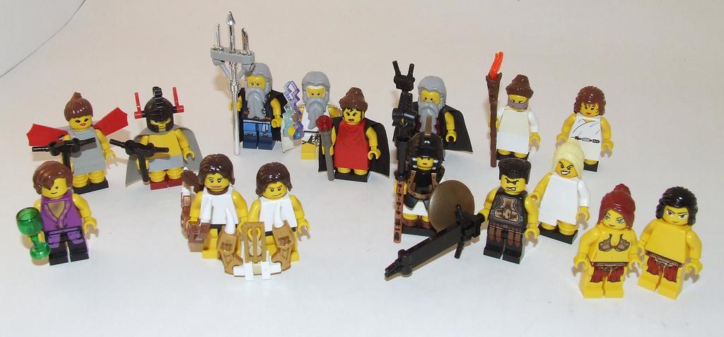 minifigures eros lego