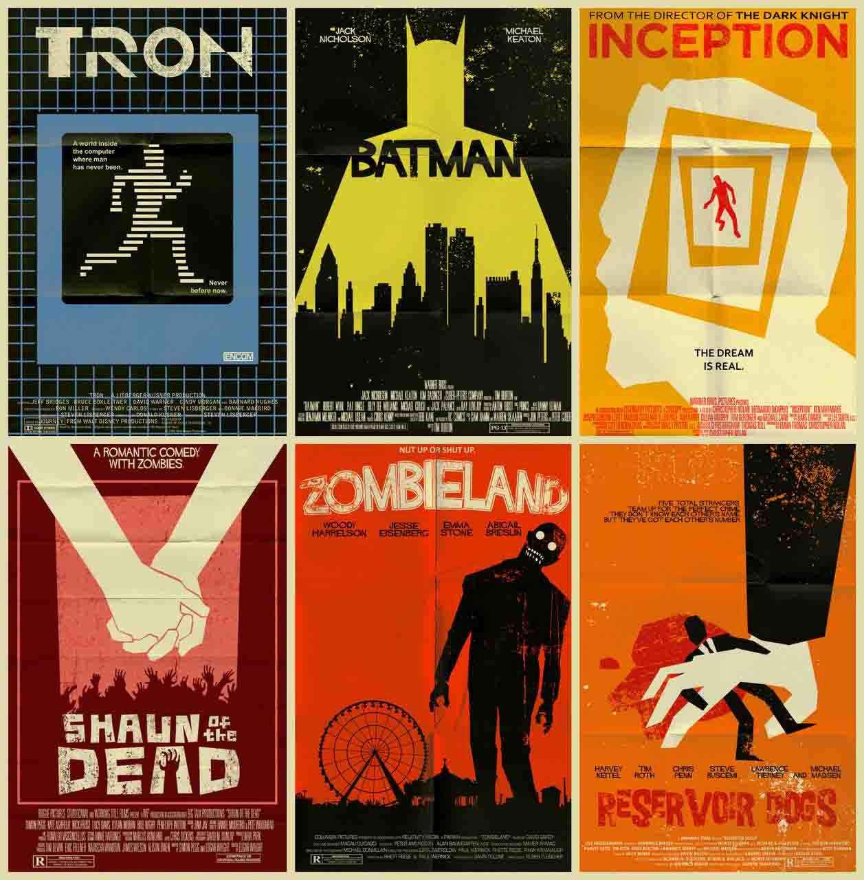 old school movie poster leganerd