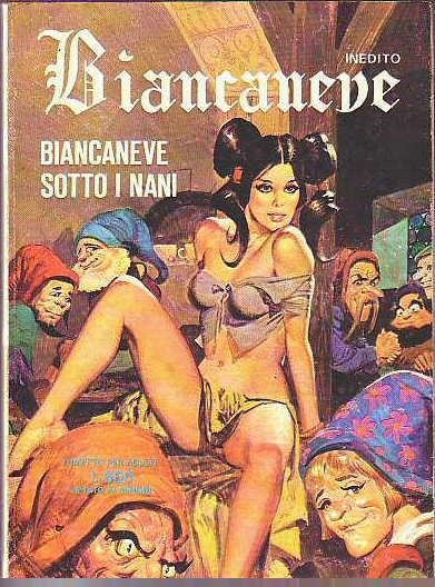 Biancaneve e i Nani porno Sette