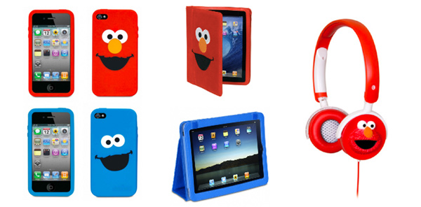 Elmo cookie monster ipad case leganerd for Case con verande tutt attorno